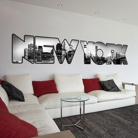 New York Premium Wall Decals - Window Film World