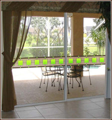 Cairo Stained Glass Window Film Border - Window Film World