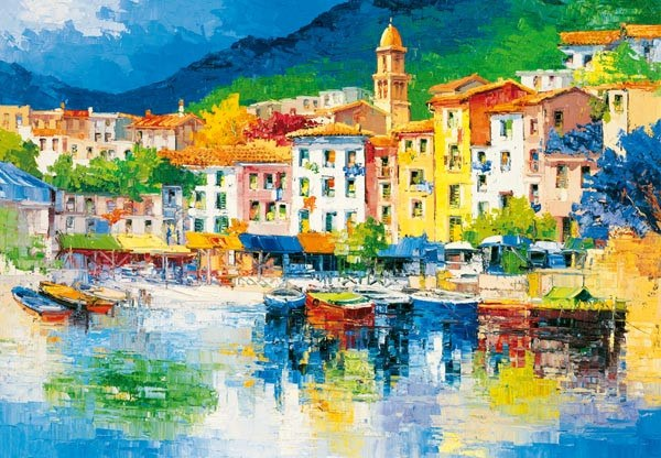 Riviera Ligure Wall Mural - Window Film World