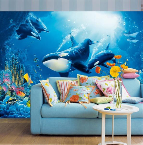 Delight Of Life Wall Mural - Window Film World