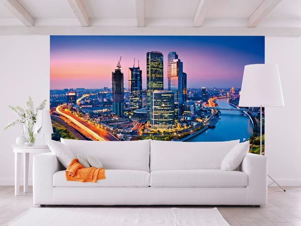 Moscow Twilight Wall Mural - Window Film World