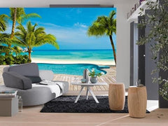 Pool Wall Mural - Window Film World