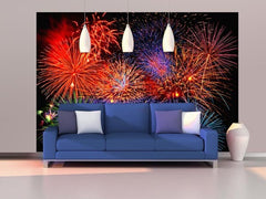 Fireworks Wall Mural - Window Film World