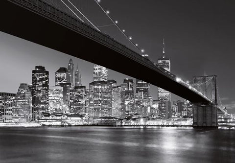 Brooklyn Bridge NY Wall Mural - Window Film World