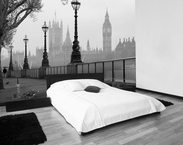 London Fog Wall Mural - Window Film World