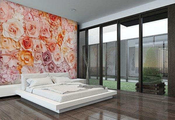 Posy Wall Mural - Window Film World