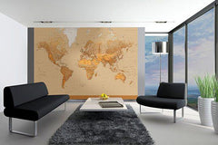 The World Wall Mural - Window Film World