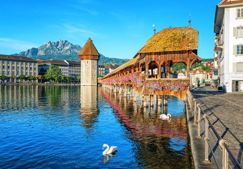 Lucerne Switzerland Wall Mural - Window Film World