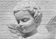 Angel Brick Wall Mural - Window Film World
