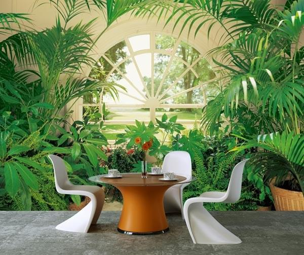 Wintergarden Wall Mural - Window Film World