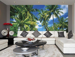 Island In The Sun Wall Mural - Window Film World