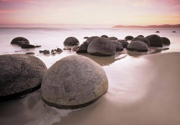 Moeraki Boulders Wall Mural - Window Film World