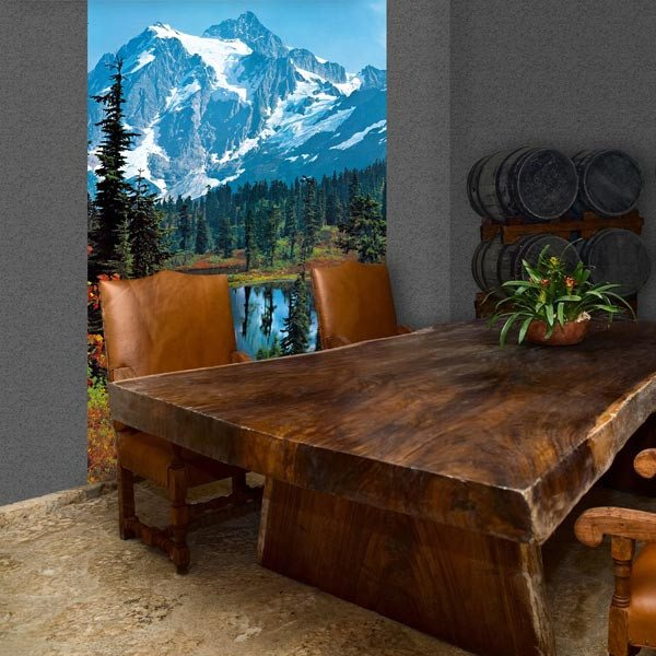 Mountain Peak Wall Mural - Window Film World