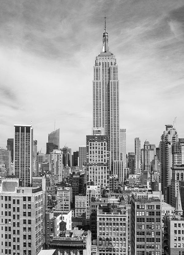 The Empire State Wall Mural - Window Film World