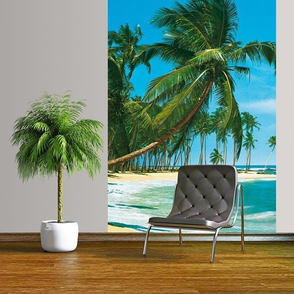 South Sea Wall Mural - Window Film World