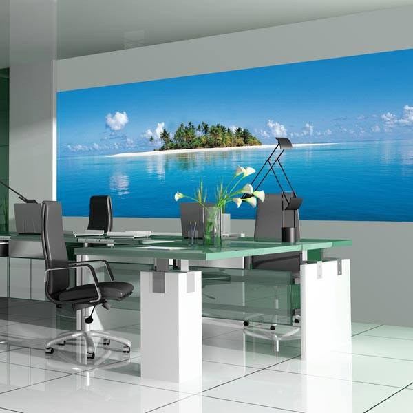 Maldive Island Wall Mural - Window Film World