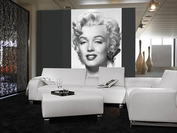 Marilyn Monroe Wall Mural - Window Film World