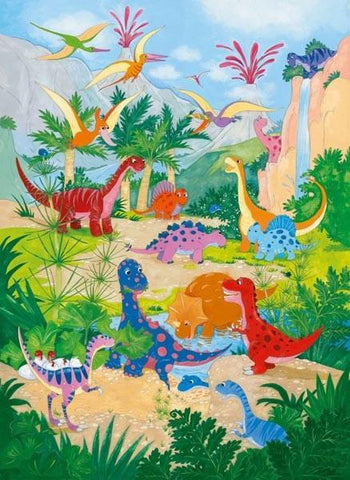 Dino World Wall Mural - Window Film World