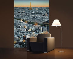 Paris Aerial View Wall Mural - Window Film World