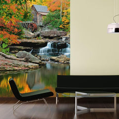 Grist Mill Wall Mural - Window Film World