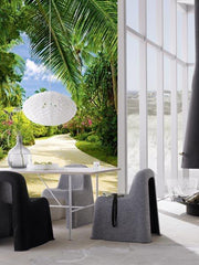 Tropical Pathway Wall Mural - Window Film World