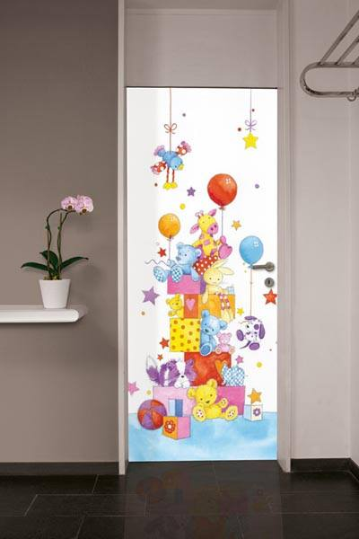Little Friends Wall Mural - Window Film World