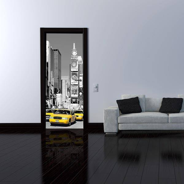 Nyc Times Square Wall Mural - Window Film World