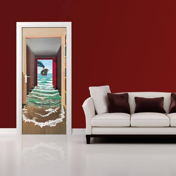 Le Secret Wall Mural - Window Film World