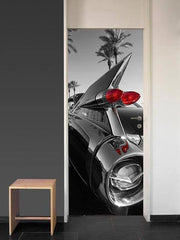Classic Car Wall Mural - Window Film World
