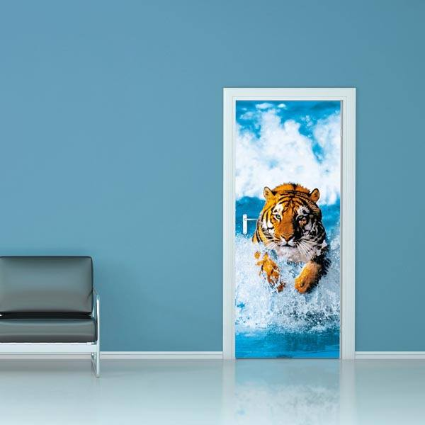 Bengal Tiger Wall Mural - Window Film World