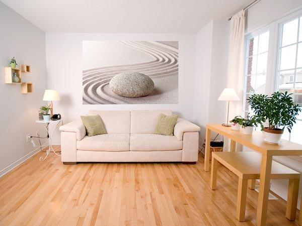Zen Stone Wall Mural - Window Film World
