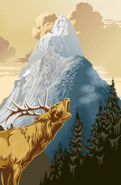 King Of The Mountain Wall Mural - Window Film World