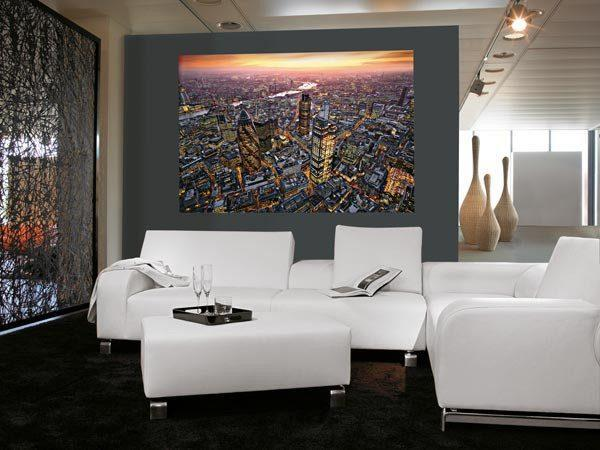London Aerial View Wall Mural - Window Film World