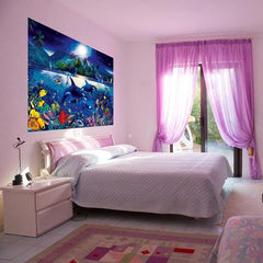 Majestic Kingdom Wall Mural - Window Film World