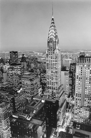 Chrysler Building Wall Mural - Window Film World
