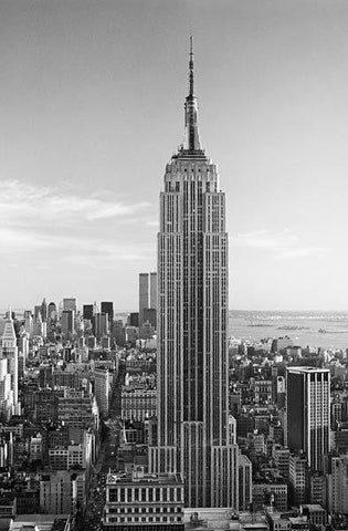 Empire State Building Wall Mural - Window Film World