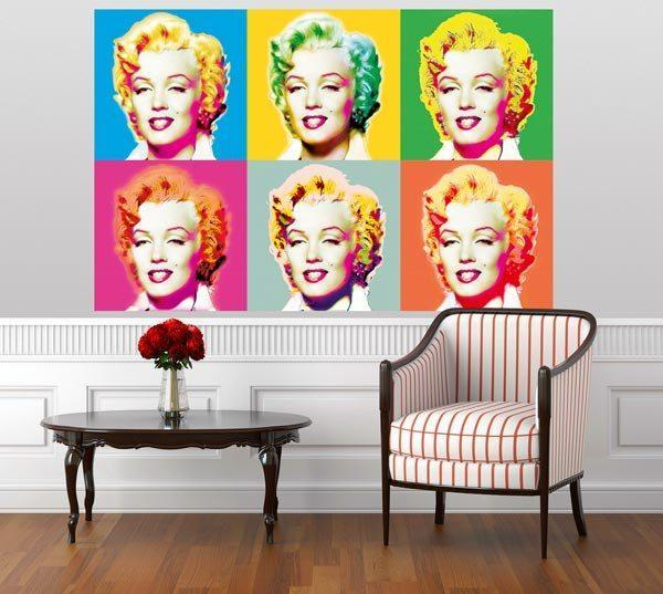 Visions Of Marilyn Wall Mural - Window Film World