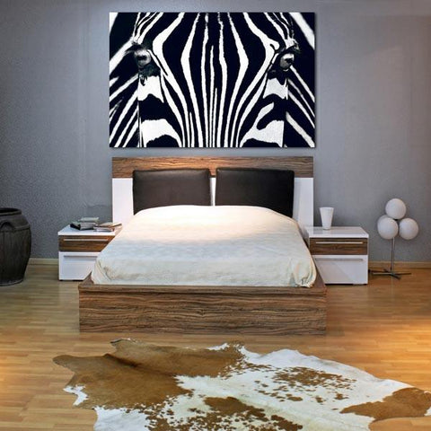 Black And White Adhesive Wall Mural - Window Film World