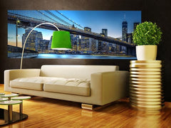 Blue Hour over New York Wall Mural - Window Film World