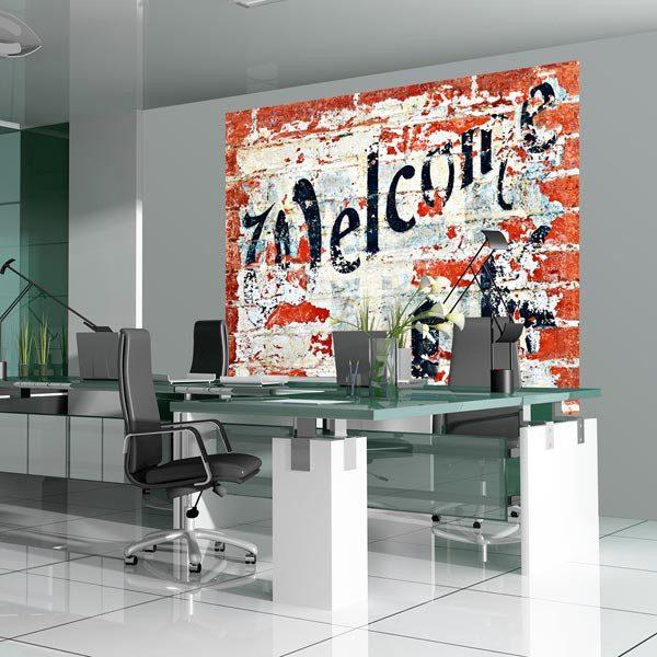 Welcome Wall Mural - Window Film World
