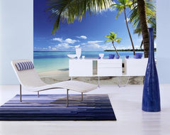 Caribbean Sea Wall Mural - Window Film World