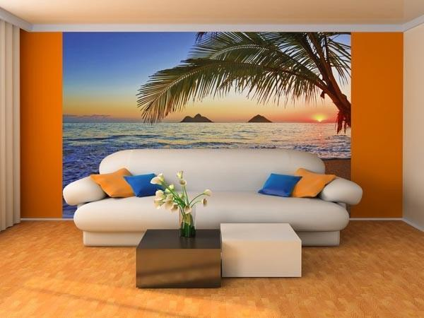 Pacific Sunrise Wall Mural - Window Film World