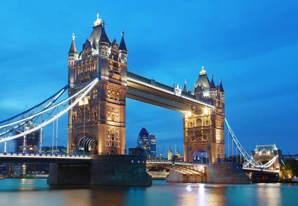 Tower Bridge Wall Mural - Window Film World