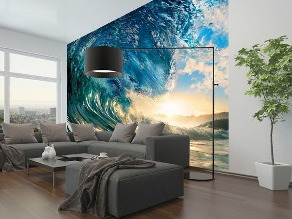 The Perfect Wave Wall Mural - Window Film World