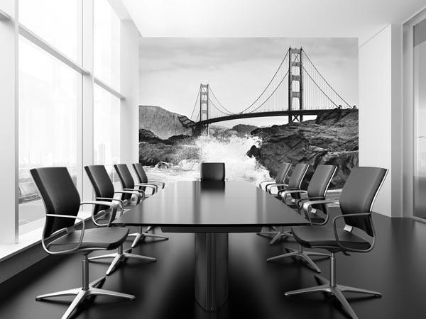 Golden Gate Bridge Wall Mural - Window Film World