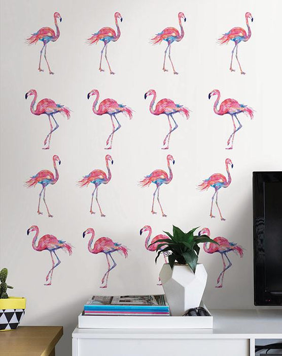 Pink Flamingo Applique Kit - Window Film World