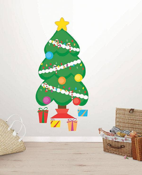Decorate a Tree Small Wall Art Kit