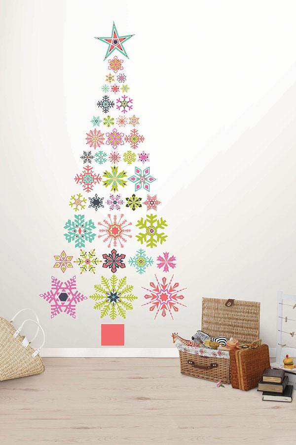 Holiday Cheer Large Wall Art Kit - Window Film World