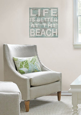 Better at the Beach Wall Quote - Window Film World