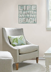 Better at the Beach Peel and Stick Wall Quote - Window Film World
